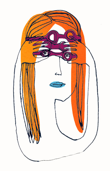 A Woman in Goggles